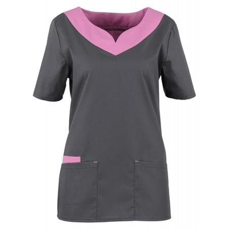 KASACK 2436 VON BEB / FARBE: DUNKELGRAU-LILA-LAGUNE - - Heute im Angebot: Galaxy Sweat Cardigan 8830-233 von ENGEL  - KASACK - KASACKS - KASAK - KASAKS - DAMENKASACK